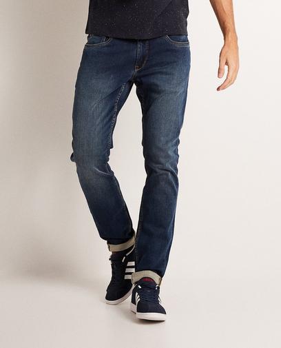 Blauwe slim fit jeans
